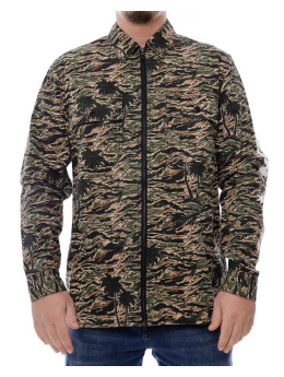 The Hundreds Longsleeve Guerrero camouflage
