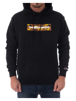 The Hundreds Pullover Camo schwarz