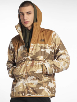 The North Face Демисезонная куртка Nvlty Fanorak камуфляж