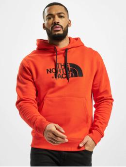 The North Face Bluzy z kapturem Drew Peak Plv czerwony