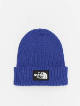 The North Face Bonnet Logo Box Cuf  bleu
