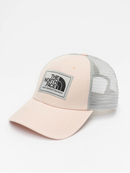 The North Face Casquette Trucker mesh Mudder rose