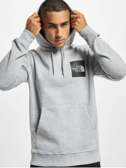 The North Face Hoody Fine Heather grijs