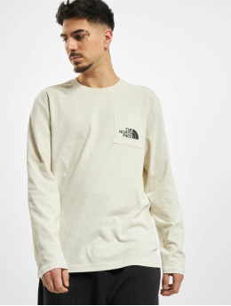 The North Face Longsleeves Tissaack bílý