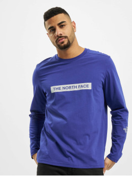 The North Face Longsleeves Light niebieski