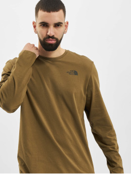 The North Face Longsleeves Face Easy oliwkowy