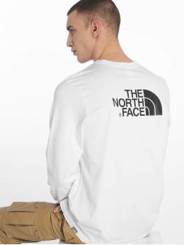 The North Face Pitkähihaiset paidat Face Easy valkoinen