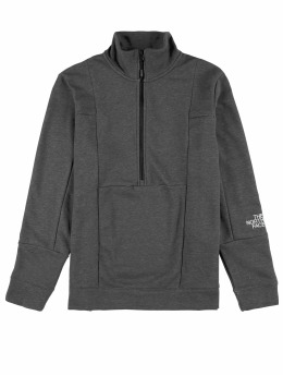 The North Face Pullover M Lht 1/4 grau