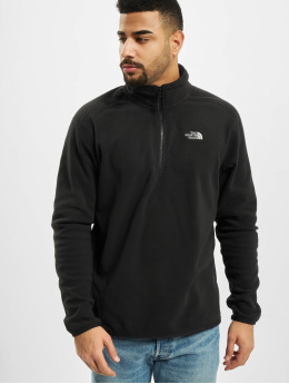 The North Face Pullover 100 Glacier 1/4 Zi schwarz
