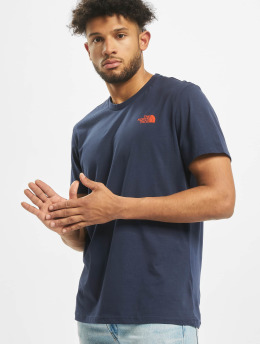 The North Face T-Shirt Simple Dome blue
