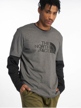 The North Face t-shirt Easy grijs