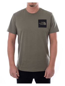 The North Face T-Shirt Fine grün