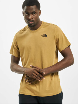 The North Face t-shirt Red Box khaki