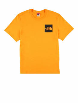The North Face T-Shirt M Fine orange