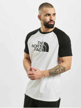 The North Face T-Shirt Raglan Easy weiß