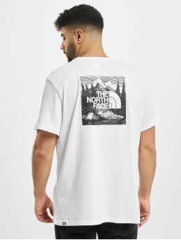 The North Face T-Shirt Redbox Cel white