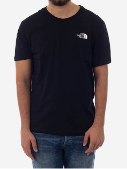 The North Face t-shirt Simple Dome zwart