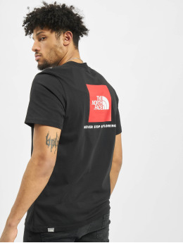 The North Face t-shirt Redbox  zwart