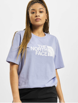 The North Face T-Shirty  Bf Easy fioletowy