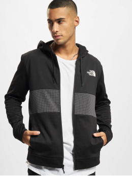 The North Face Zip Hoodie MA Overlay black