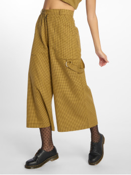 The Ragged Priest | Hitch jaune Femme Pantalon chino