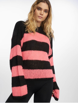 The Ragged Priest Frauen Pullover Generation Knit in schwarz