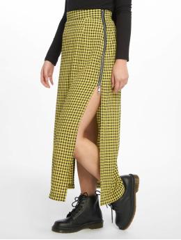 The Ragged Priest Skirt Side Split Midi  black