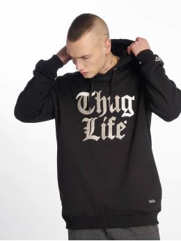 Thug Life Hoodie Ssiv svart