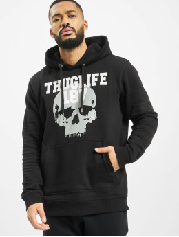Thug Life Hoodies Stay True čern