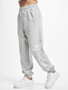Thug Life Jogging kalhoty Grea šedá