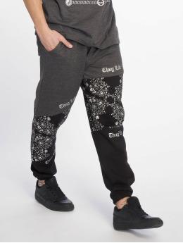 Thug Life Jogging kalhoty Hamite šedá