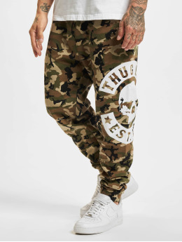 Thug Life joggingbroek B.Camo camouflage