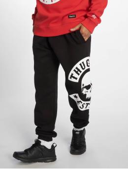 Thug Life joggingbroek B.Camo zwart