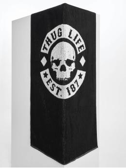 Thug Life Ręcznik Logo czarny