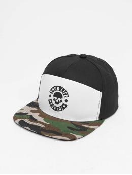 Thug Life Snapback Caps Beast czarny