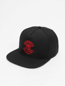 Thug Life Snapback Caps B.Golden svart