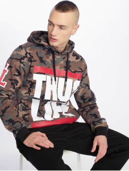 Thug Life Sweat capuche B.Fight camouflage