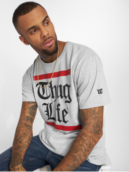 Thug Life T-paidat B.Gothic harmaa