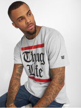 Thug Life T-shirt B.Gothic grå