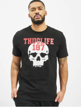 Thug Life t-shirt Stay True zwart