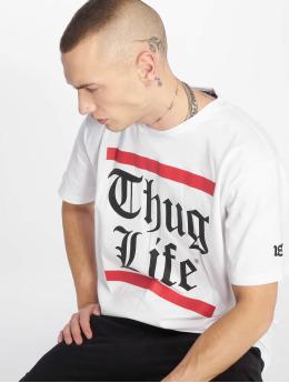Thug Life T-shirts B.Gothic hvid
