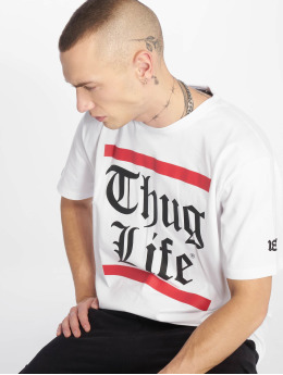 Thug Life T-Shirty B.Gothic bialy