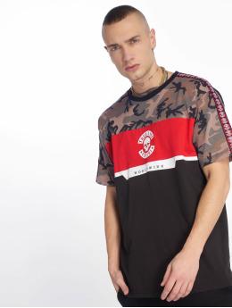 Thug Life T-skjorter Delux svart
