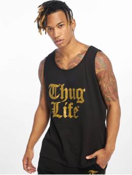 Thug Life Tank Tops Takt  nero