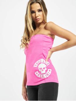Thug Life Tops Lil rosa