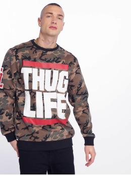 Thug Life Tröja B.Fight kamouflage