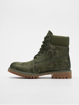 Timberland Čižmy/Boots 6IN Premium Fabric maskáèová