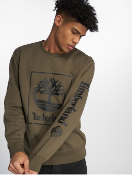 Timberland Пуловер SLS Seasonal оливковый