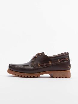Timberland Boots Authentics 3 Eye Classic Lug braun