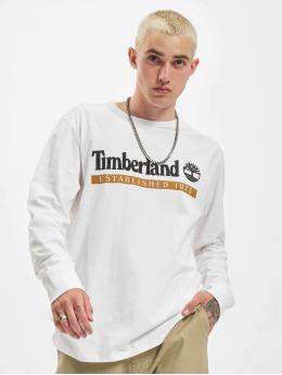 Timberland Camiseta de manga larga Established 1973 blanco